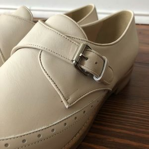 J. Crew Shoes - NIB J.Crew Perforated Monk Strap Loafers